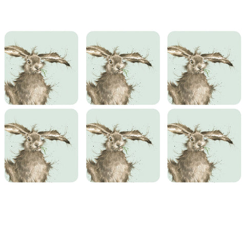 Wrendale Designs Hare Coaster Set by Pimpernel