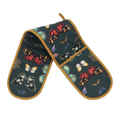 Pimpernel Botanic Garden Harmony Butterflies Cotton Double Oven Gloves