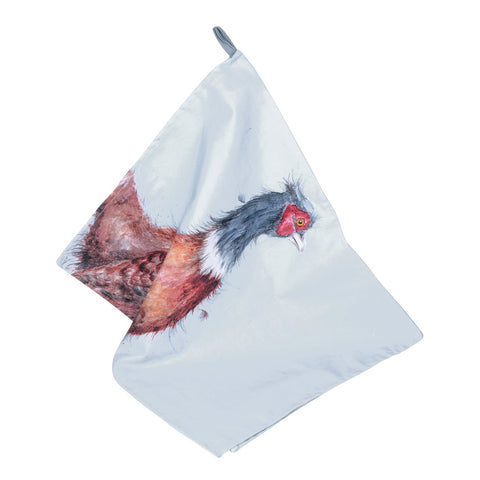 Wrendale Designs Pheasant Tea Towel by Pimpernel