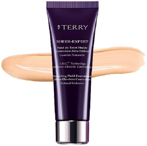 By Terry Sheer Expert F. Foundation 5 Peach Beige - Beautyvonappen.dk