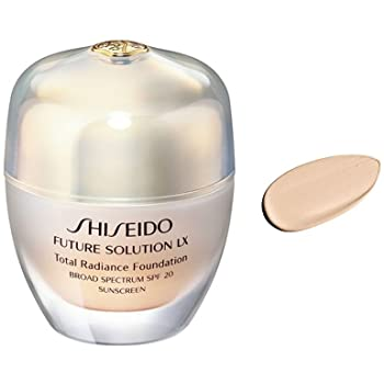 SHISEIDO Future Solution O40 Total radiance foundation 30 ML - Beautyvonappen.dk