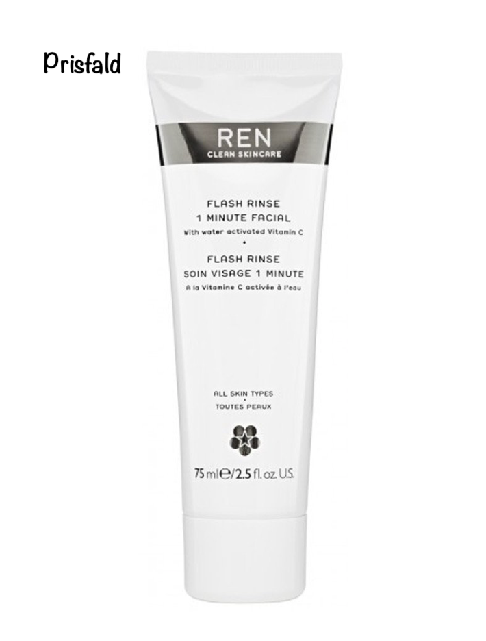 REN Flash Rinse 1 Minute Facial 75 ml - Cleanskin.dk