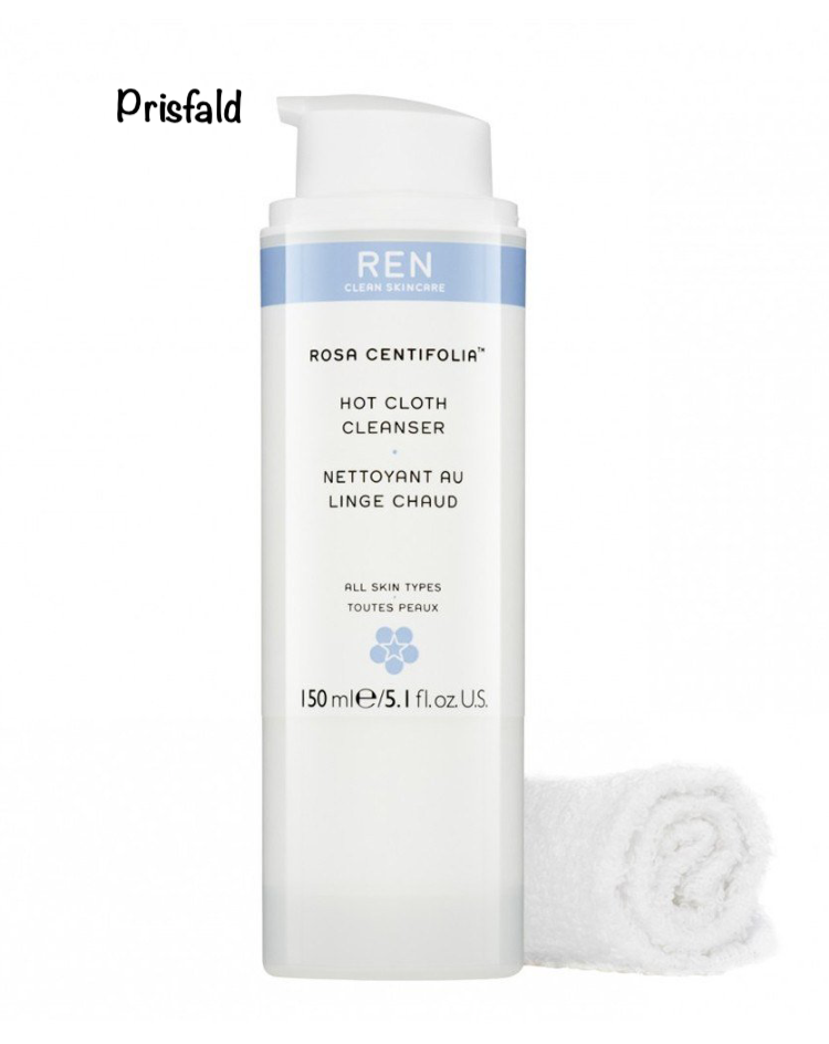 REN Rosa Centifolia Hot Cloth Cleanser 100 ml. - Beautyvonappen.dk