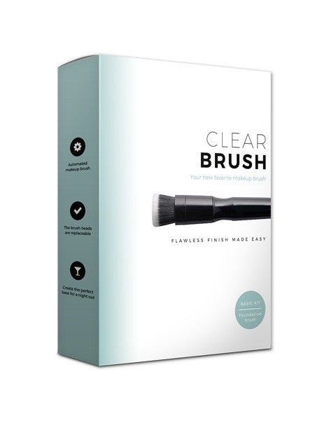 Clearbrush The Basic Kit - Beautyvonappen.dk