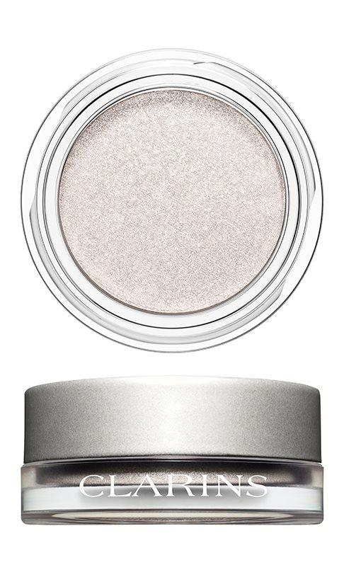 CLARINS Ombre Iridescente Eyeshadow 08 Silver white - Beautyvonappen.dk