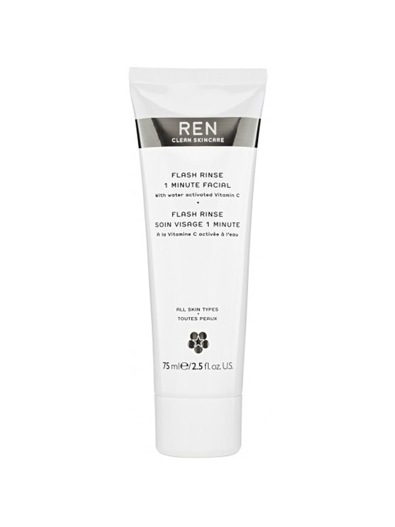 REN Flash Rinse 1 Minute Facial 75 ml - Beautyvonappen.dk