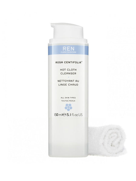 REN Rosa Centifolia™ Hot Cloth Cleanser 150 ml - Beautyvonappen.dk