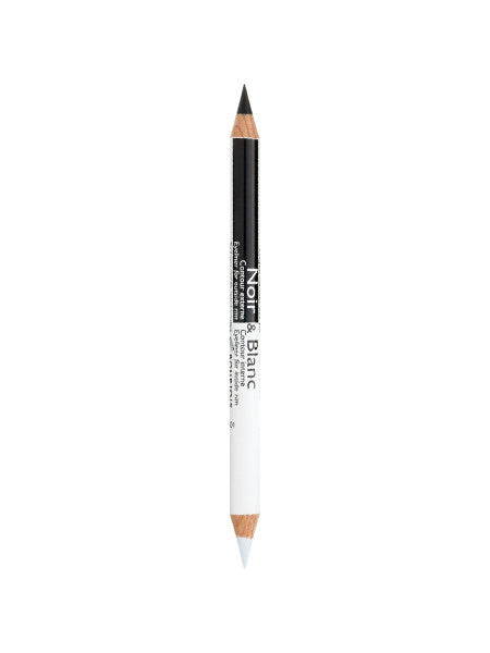 Saffron Black & White Double Ended Eyeliner - CleanSkin.dk
