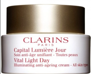 Clarins Vital Light Day Til alle hudtyber 50ml - Beautyvonappen.dk