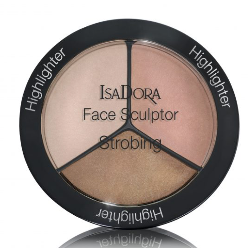 ISADORA Face Sculptor Strobing Rose Gold 18g highlighter -Beautyvonappen.dk