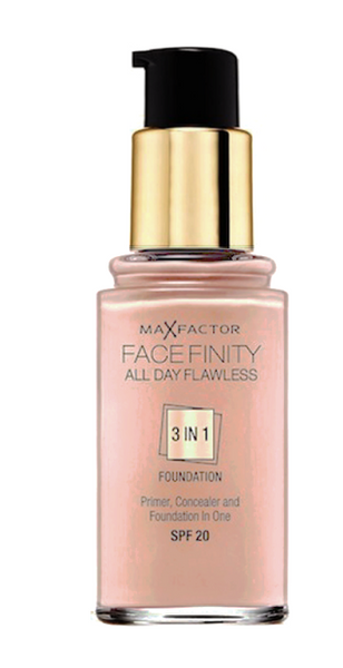 Max Factor Facefinity 3 In 1 All Day Flawless 33 Beige 30ml - Beautyvonappen.dk