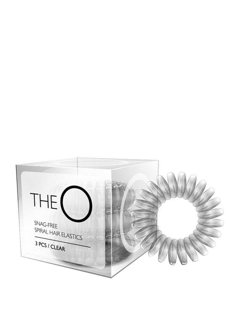 The O Hair Elastics Transparent