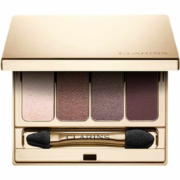 Clarins 4-Colour Eyeshadow Palette 02 Rosewood - Beautyvonappen.dk