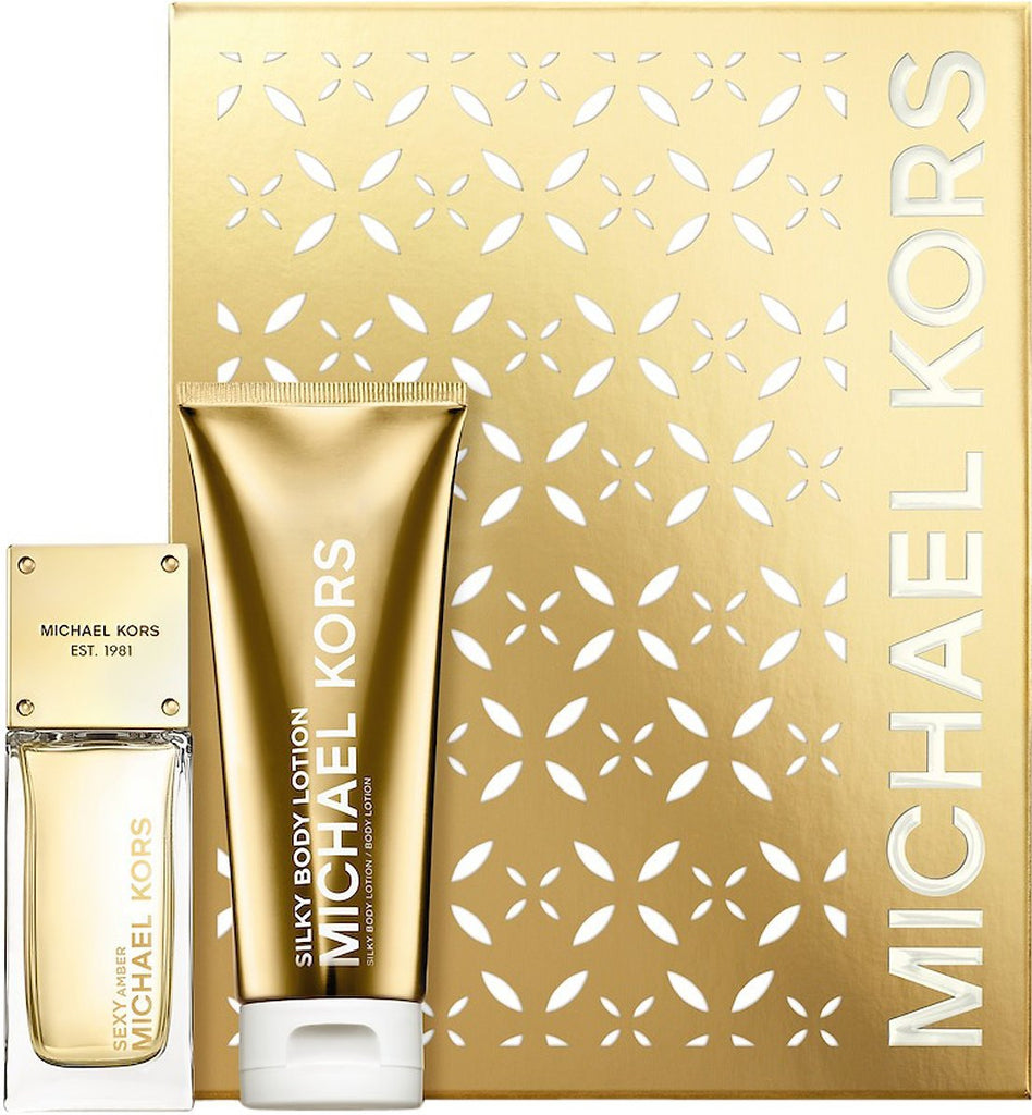 Michael Kors Sexy Amber  EdP 50ml +  body lotion 100 ml - Beautyvonappen.dk