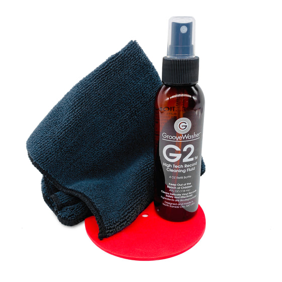 GrooveWasher Commando Record Cleaning Kit