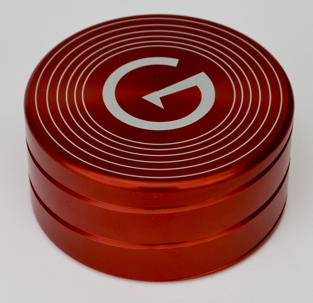 GrooveWasher Record Stabilizer Weight (Red Spiral)-Pre Production