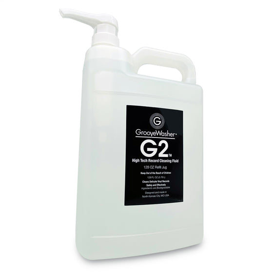 GrooveWasher G2 Record Cleaning Fluid-128oz Refill Jug