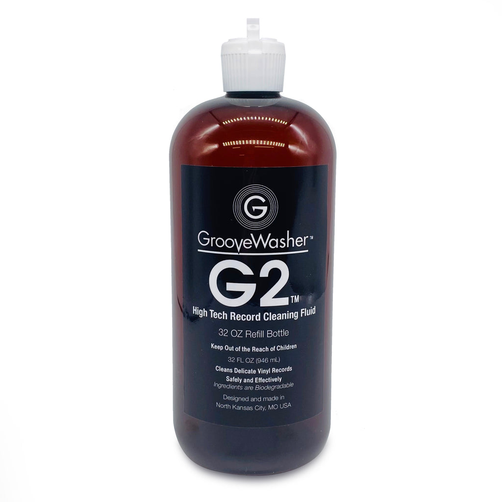 G2 Record Cleaning Fluid-32 oz Refill Bottle