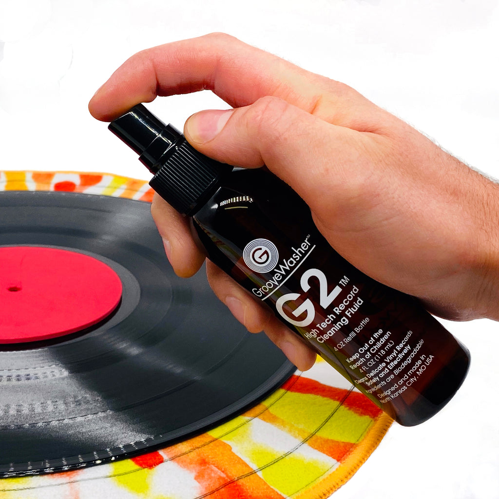The GrooveWasher Mondo Record & Stylus Care System
