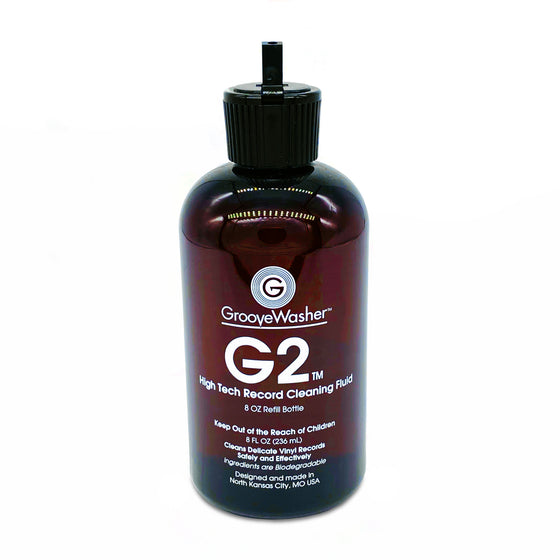 G2 Record Cleaning Fluid-8 oz Refill Bottle