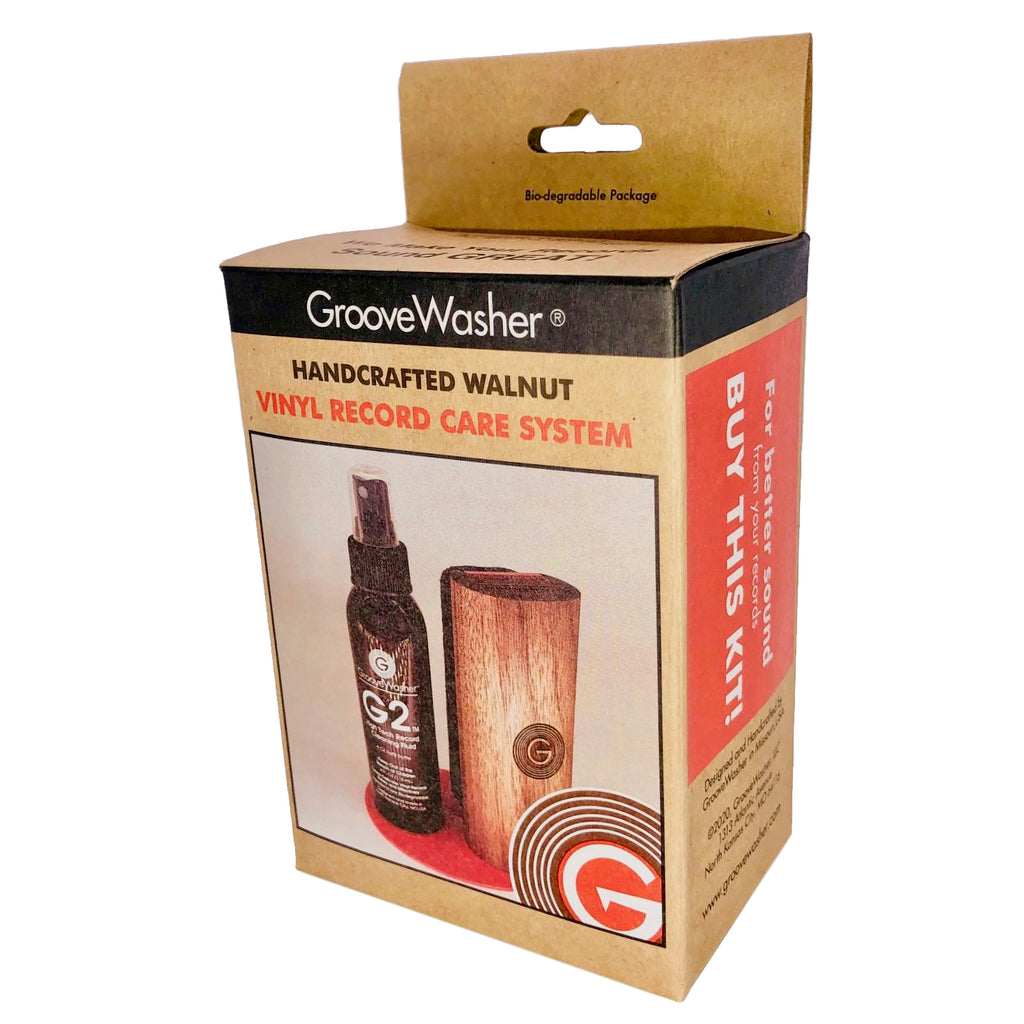 GrooveWasher Walnut Kit & SC1 Kit-Bundle and Save $5!