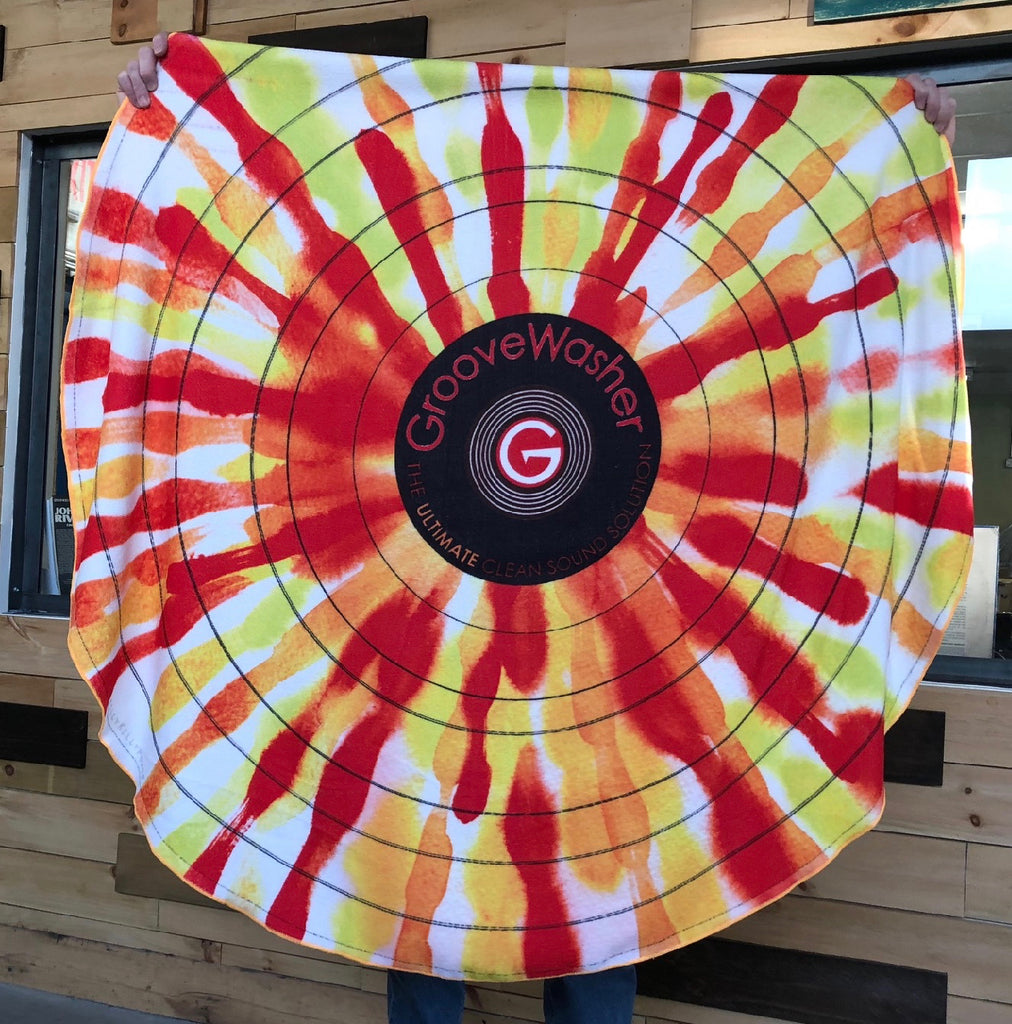 GrooveWasher Splash Record Beach/Music Festival Towel