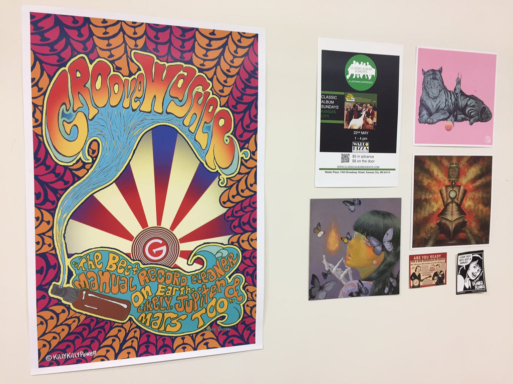 GrooveWasher Posters