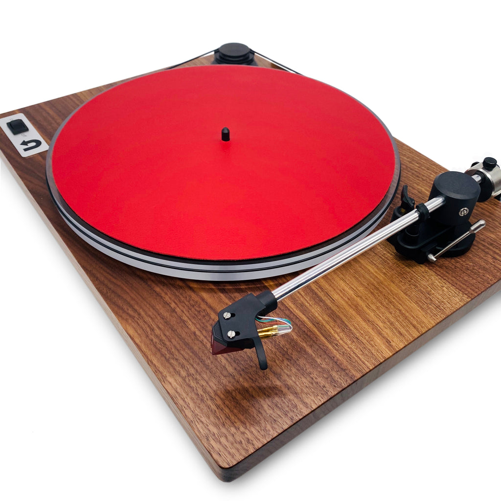 Leather Turntable Platter Mat-from Hide in the Sound