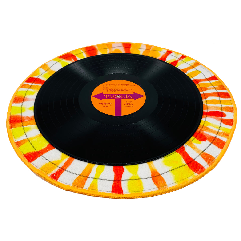 "Splash Record Landing Towel - 16"" Diameter"