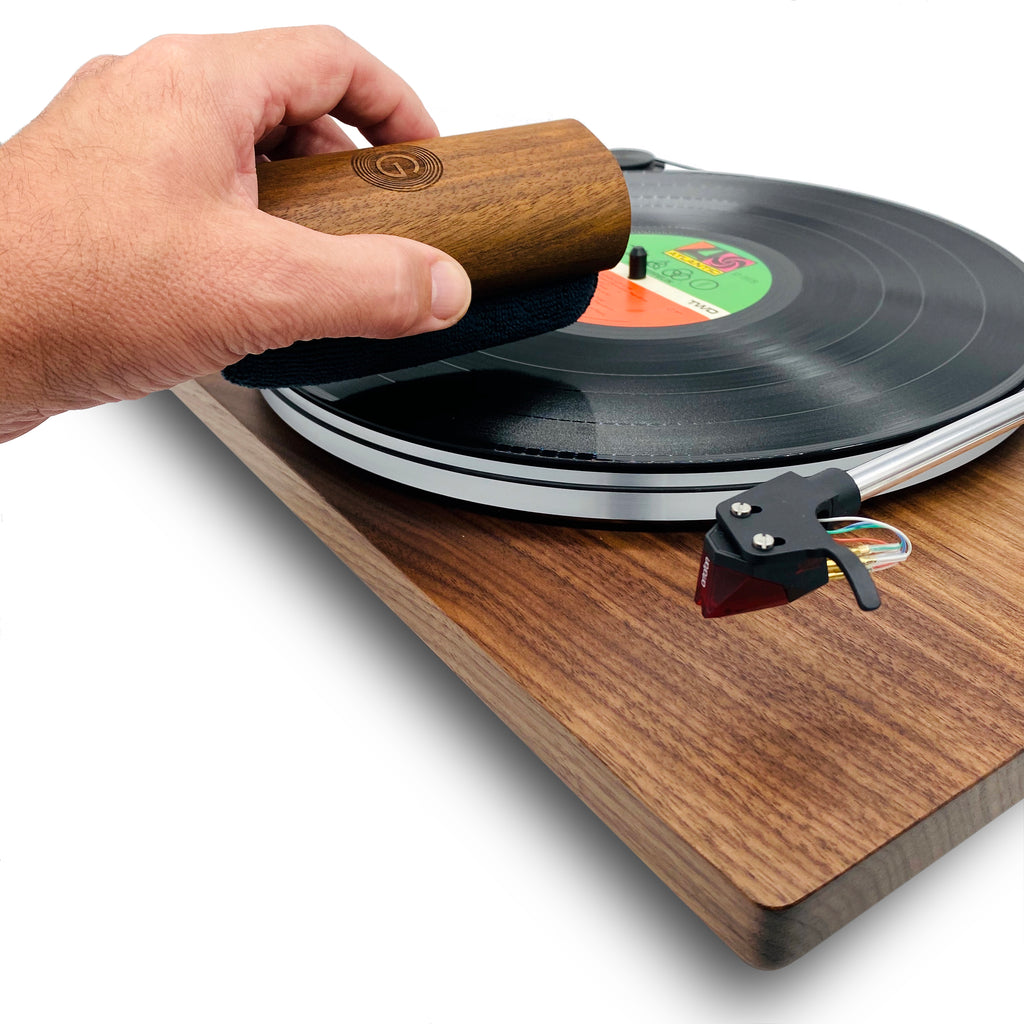GrooveWasher Walnut Record Cleaning Kit