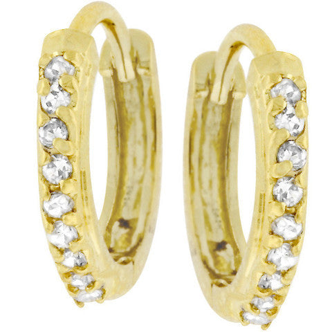 Delicate Gold Hoops