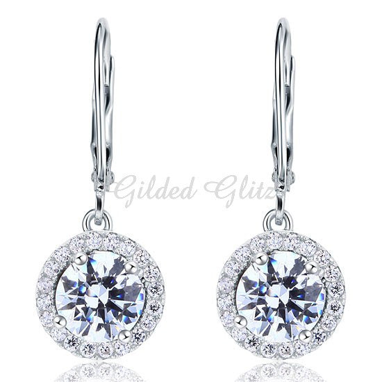 Diamond CZ Dangle Drops