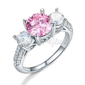 Elle's Pink Engagement Ring