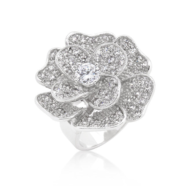 Layered Flower Ring