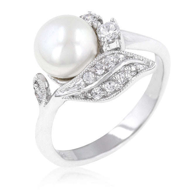 Pearl Accent Ring