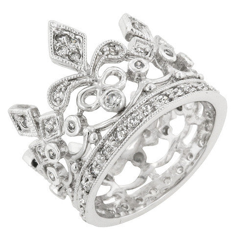 Tiff. Style Crown Ring