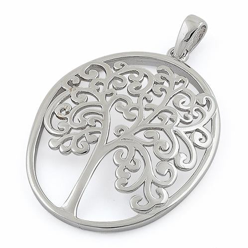 Framed Tree of Life Necklace
