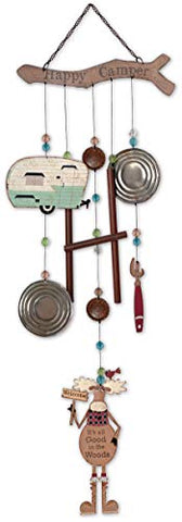 Sunset Vista Design Trailer Park Collection Moose Wind Chime