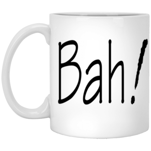 Bah! Mug - 11 oz. White