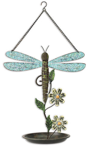 Sunset Vista Designs Dragonfly Birdfeeder, 13-Inch