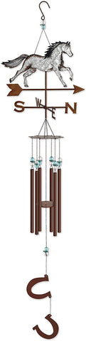 Sunset Vista Designs Farm Fresh Horse Wind Chime