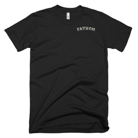 Raised Fist Back - Fathom Clothing, Alternative Clothing Company, Fathom Supply Co.