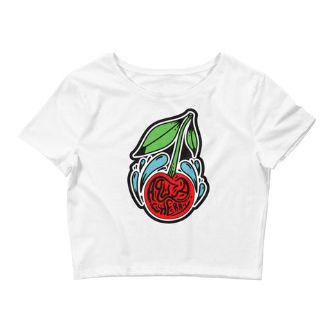 Women's Crop Tee - Fathom Clothing, Alternative Clothing Company, Fathom Supply Co.
