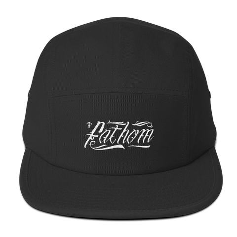 Tattoo Style Five Panel - Fathom Clothing, Alternative Clothing Company, Fathom Supply Co.