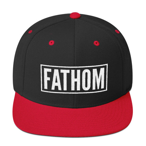 Fathom Snapback - Fathom Clothing, Alternative Clothing Company, Fathom Supply Co.