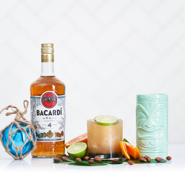 BACARDÍ Añejo Cuatro Mai Tai - Sourced: Craft Cocktails Delivered