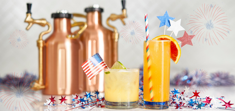 Luck's 4th of July Draft Cocktail Package - Sourced: Craft Cocktails Delivered