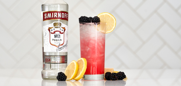 Smirnoff Vodka Blackberry Crush - Sourced: Craft Cocktails Delivered