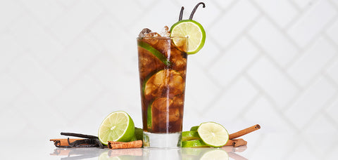 Captain Morgan Cuba Libre - Sourced: Craft Cocktails Delivered