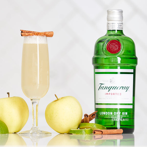 Tanqueray Gin Cinnamon Twist 75 - Sourced: Craft Cocktails Delivered